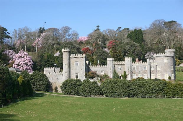 Caerhays Castle. Image: Supplied