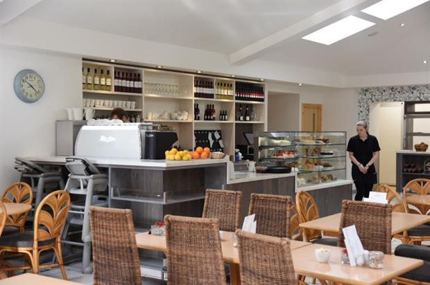 Raemoir's cafe. Image: Supplied