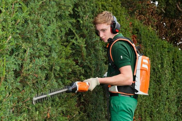 Charlie Blackmore, a first-year apprentice at Regent's Park