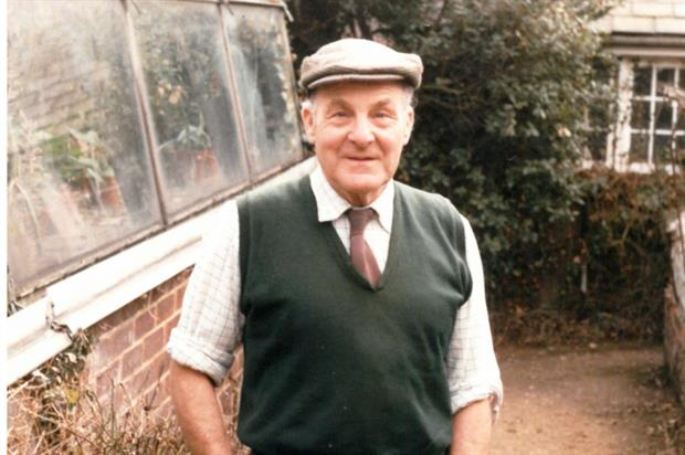 Charlie Smith spent 55 years as a professional gardener. Image: Myddleton House and Gardens