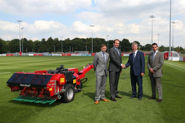 Matt Bartle - FA Facilities & Investment, Herman de Bree – Redexim Charterhouse, Mark Pover – FA national facilities and investment manager, Curtis  Allen – Charterhouse
