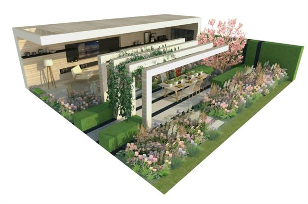 The LG Smart Garden for Chelsea 2016, by Hay Joung Hwang. Image: Supplied