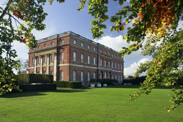 Clandon Park's Palladian house from the south east. Image: National Trust/John Miller