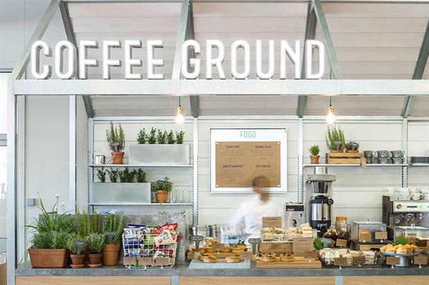 Wyevale Garden Centres Coffee Ground catering operation - image: WGC