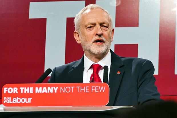 Labour leader Jeremy Corbyn at the Labour Party manifesto launch last month - image: Sophie Brown (CC BY-SA 4.0)