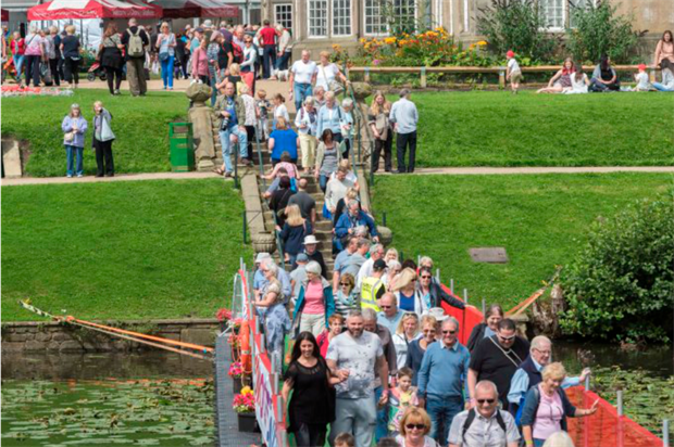Crowds at this year's London Flower Show. Image: Supplied