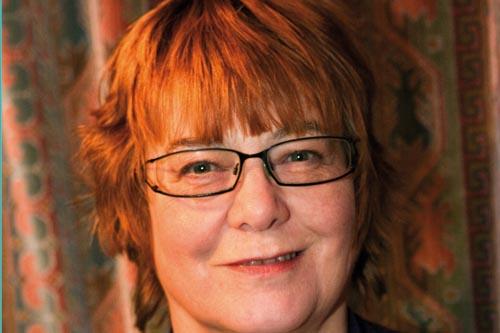 Anne Wareham, author, The Bad Tempered Gardener - image: HW