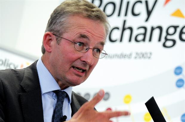 Chair of the Natural Capital Committee professor Dieter Helm. Image: Policy Exchange