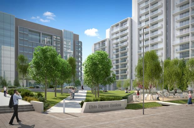 Elvin Square Gardens. Image: Supplied