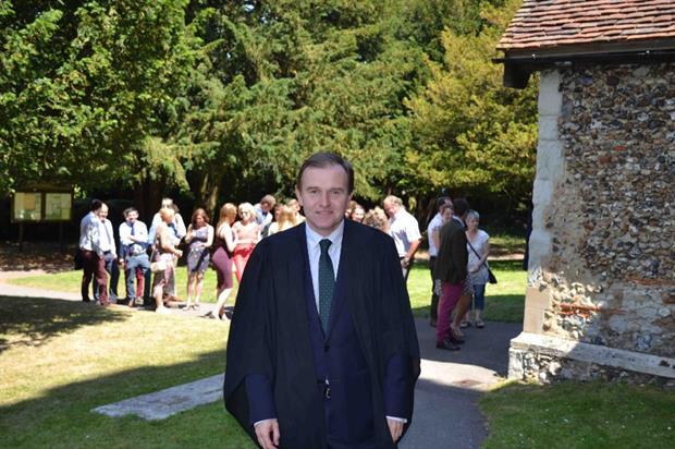 George Eustice. Image: Writtle College