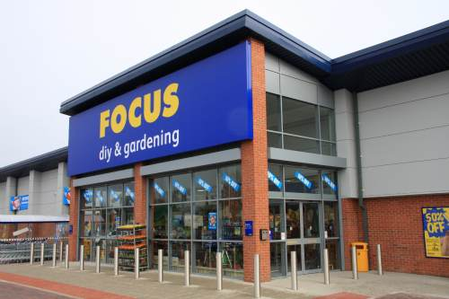So far B&Q and Wickes have snapped up Focus branches - image: Focus DIY