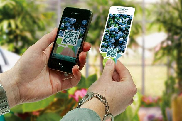 QR codes: increasingly common on labels as popularity of smartphones has increased