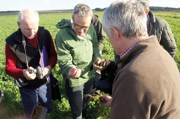 GREATsoils event: Becan, Wilkinson and Molyneux - image: HW