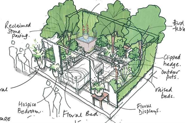 Artist's impression of The Garden Bed for Chelsea. Image: Supplied