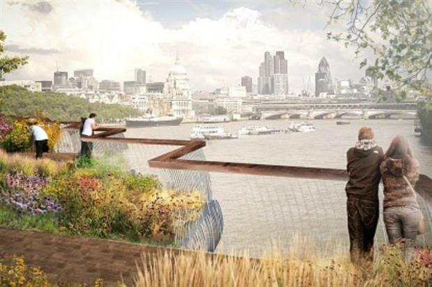 Dan Pearson designed the planting scheme for the Garden Bridge.