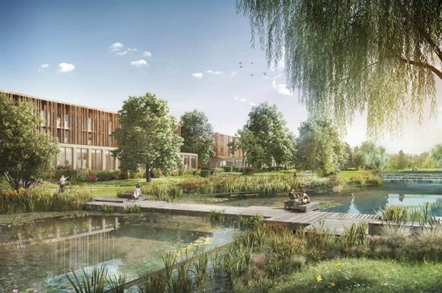 The vision for Gatton Manor. Image: Broadway Malyan
