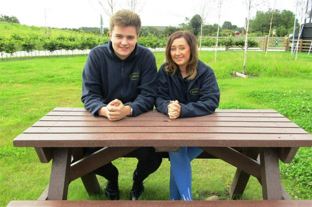 George Goodier and Franky Blakey join an ever-growing team. Image: Green-tech