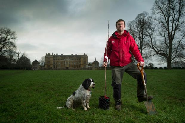 George Holmes, area ranger for South Somerset. Image: National Trust / Simon Haywood