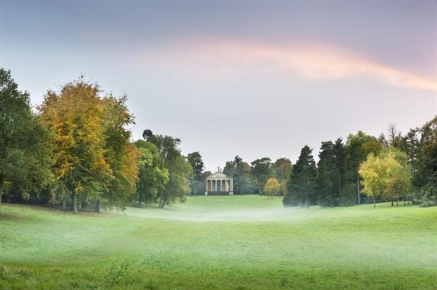 The Grecian Valley at Stowe. Image: National Trust/Andrew Butler