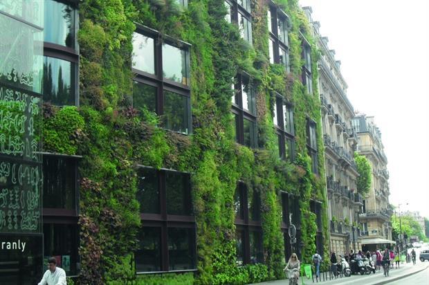 Green Wall in London. Image: TCPA