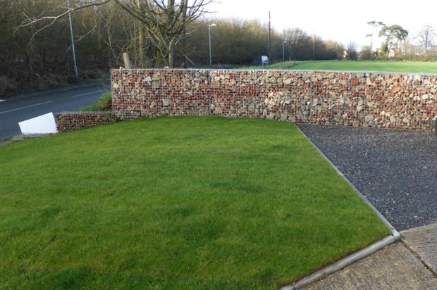 Green-tech gabions. Image: Supplied
