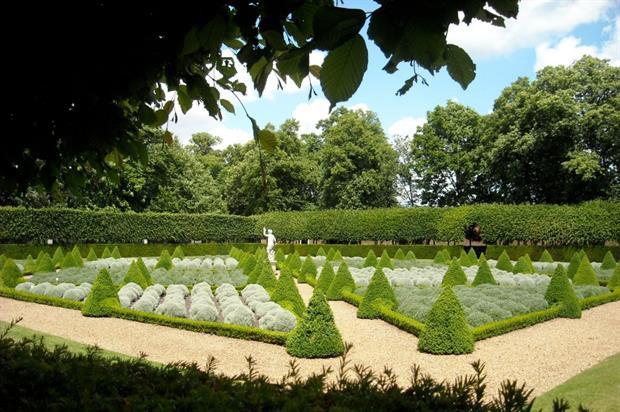 Ham House garden. Image: National Trust