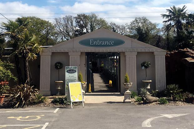 Hambrooks: garden design centre in Titchfield features 16 show gardens to offer inspiration to potential clients - image: HW
