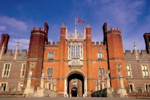 Hampton Court Palace. Image: Supplied