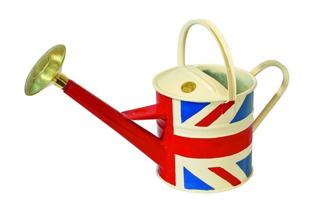 Haws Union Jack watering can