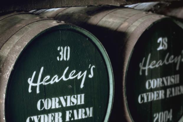 Image: Healey's Cornish Cyder Farm