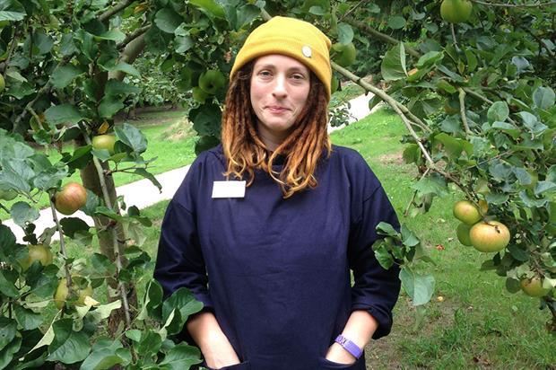 Myddelton House Gardens senior gardener, Helena Dove - image: Myddelton House Gardens
