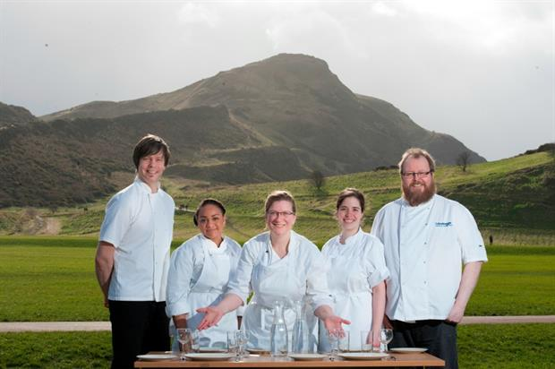 Holyrood Education Centre will host a 'pop up' eatery