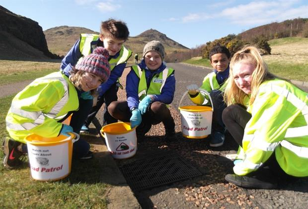 Holyrood Park: Junior rangers have reached the final of a national award