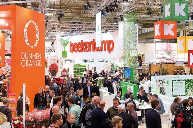 IPM Essen: Commercial Horticulture Association organises delegation of UK firms attending nursery trade show in Germany - image: © Messe Essen