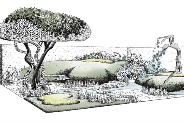 Artist's impression of Imperial Garden: Revive. Image: Supplied