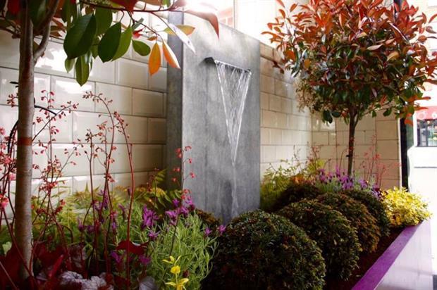 The pop-up garden at Bibendum. Image: Jack Dunckley