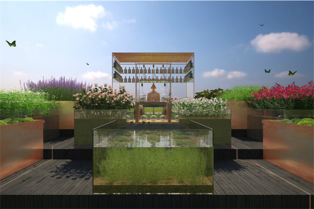 Artist's impression of the Botanical Studio Garden. Image: Supplied