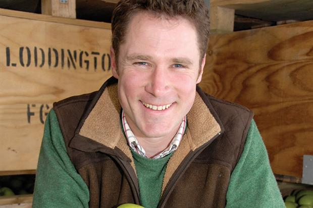 Smith: grows fruit at Loddington Farm near Maidstone