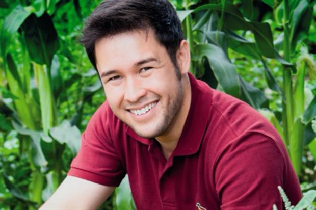 James Wong - to feature at the Edible Garden Show