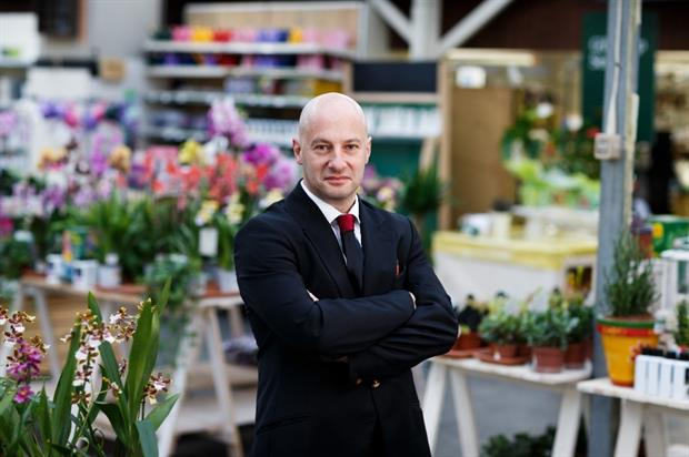 Jason Danciger of Wyevale Garden Centres. Image: Supplied