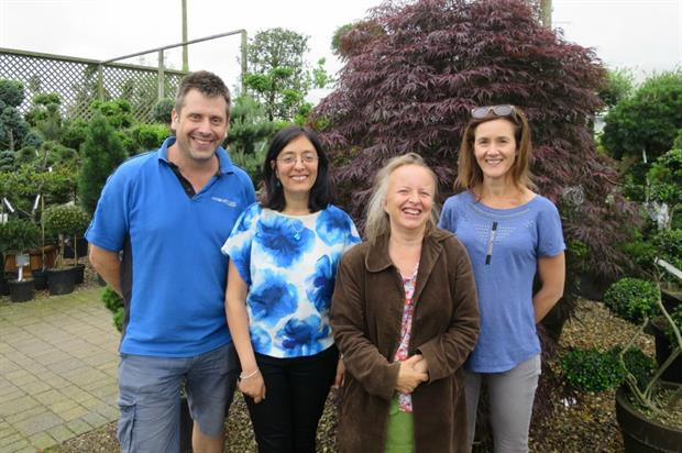 From left, Richard McKenna, Soofia Bandy, Sophie Guinness, Gillian Rea. Image: Supplied