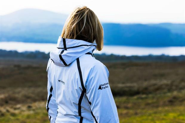 Lake District Ranger in one of the new sponsored jackets. Image: National Parks Partnerships