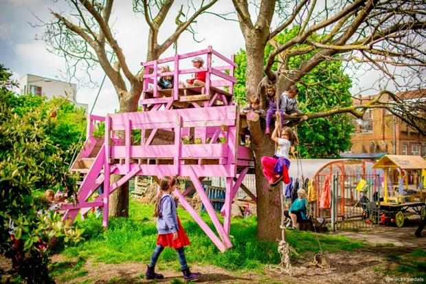 A pocket park in Lewisham. Image: Supplied