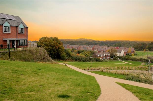 More than half of Lightmoor Village will be green space. Image: Bournville Village Trust