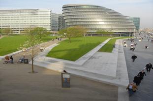 The GLA building  - a feature of the LDA design walk - photo: LDA Design