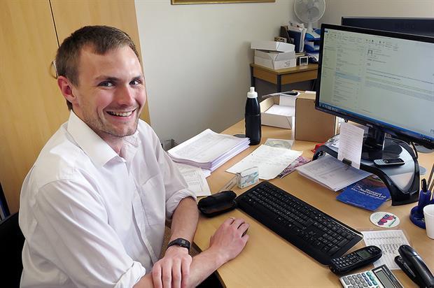 Matthew Everett, graduate intern, Howard Nurseries - image: Howard Nurseries