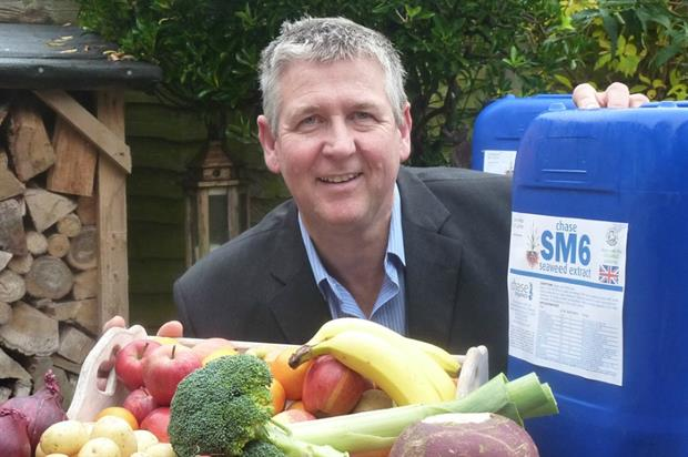 Chase Organics managing director, Mike Hedges