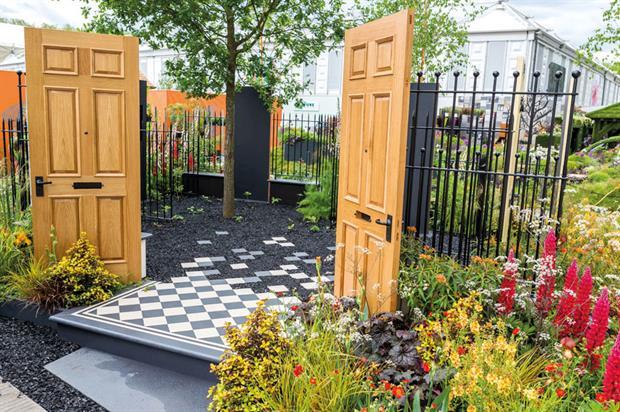 Modern Slavery: garden designed by Juliet Sargeant - image: © RHS
