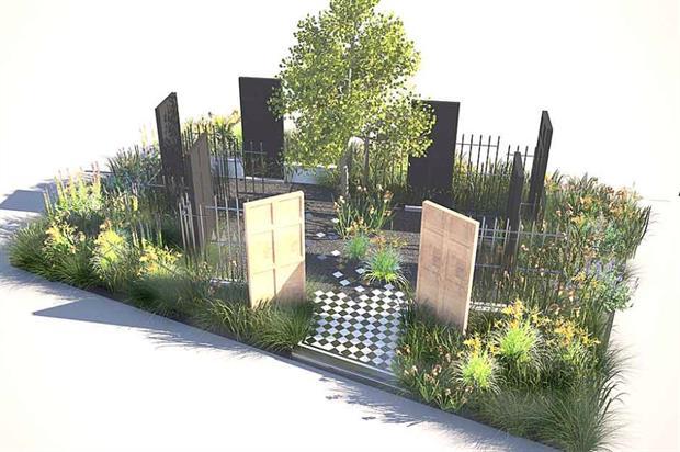 The Modern Slavery Garden. Image: Supplied