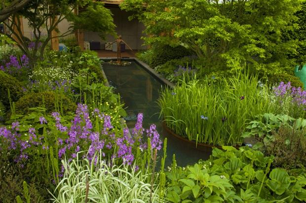 Chris Beardshaw's Chelsea 2016 Show garden for GOSH. Image: Supplied